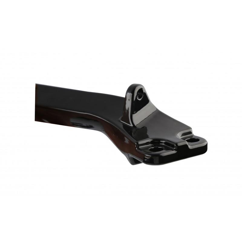 Black Foot Peg Mounting Brackets Mounts For Harley Dyna Glide models 06-17