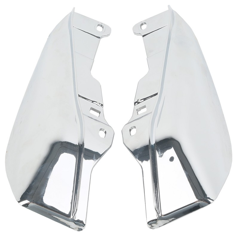 Chrome Mid-Frame Air Deflectors For Harley Touring Electra Road Street Glide Road King 2009-2018
