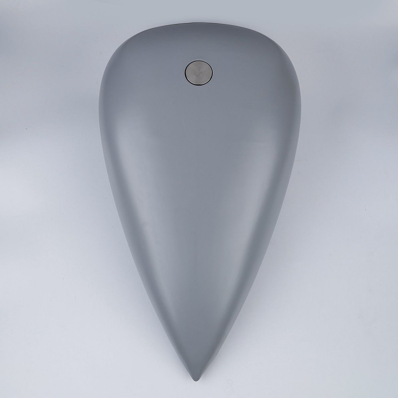 """Custom 5"""" Stretched 4.5 Gal. Gallons Fuel Gas Tank For Harley Touring Road King"""